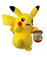 Pokemon Pikachu Licensed 8 Inch Plush Wicked Cool Toys - $12.82