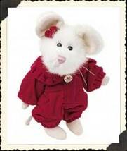"Boyds Bears ""Monterey Mouski""  6"" Plush Mouse - #91675 - New- 1999 - $19.99"