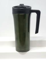 Starbucks Stainless Steel Metallic Green Cold Cup Tumbler 2011 - $19.79
