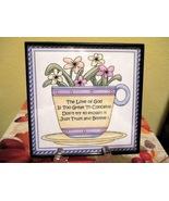 Framed Inspirational Tea Cup Home Decor Wall Ha... - $6.00
