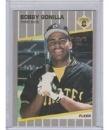 1989 Fleer  Glossy #203 Bobby Bonilla - $1.00