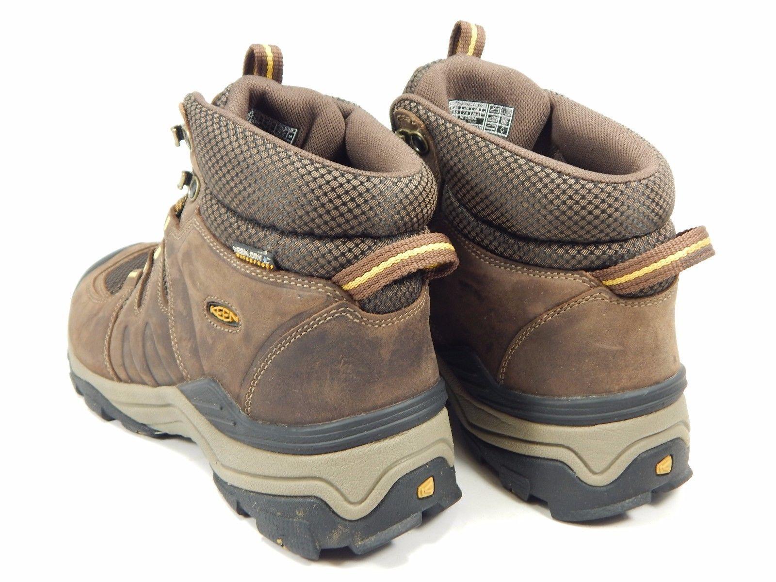 Keen Gypsum II Mid Men's Waterproof Hiking Shoes Size US 8.5 M (D) EU 41 Brown
