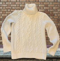 LRL Sweater White Pullover Lauren Jeans Ralph Lauren Long Sleeve Petite ... - $24.99
