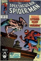 The Spectacular Spider-Man #179 NM 1991 Marvel Comic Book - $1.89