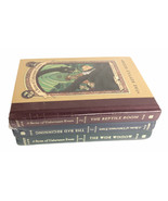 A Series of Unfortunate Events Lemony Snicket 1 - 3 Volumes HC New  - $24.20