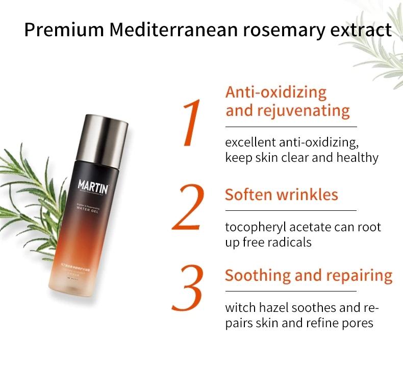 MARTIN Men's Rosemary Brighten and Regenerating Water Gel
