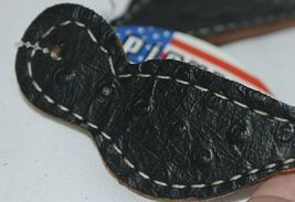 Pioneer Horse Tack 3575 Black Overlay Youth Spur Straps image 4