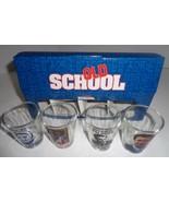OLD SCHOOL Movie Shot Glasses Box Set of 4 NWT - $11.99