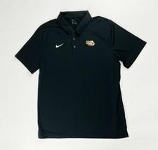 Nike Dry Franchise Short Sleeve LSU Tigers Polo Shirt Men's Large Black ... - $25.73