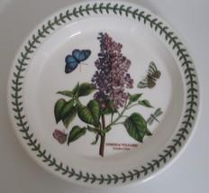 Portmeirion Botanic Garden Round Salad Plate Garden Lilac dinnerware flower - $19.24