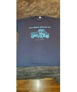 MENS DUMP TRUCK TSHIRT - BLUE - NEW - $10.00