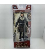HBO Game Of Thrones Jon Snow McFarlane Toys Action Figure Collectible wi... - $14.99
