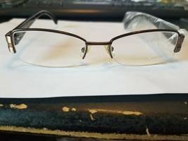 Michael Kors Eyeglasses Frame MK438 200 Bronze Brown 50-17-135 Half Rim ..NEW - $56.43