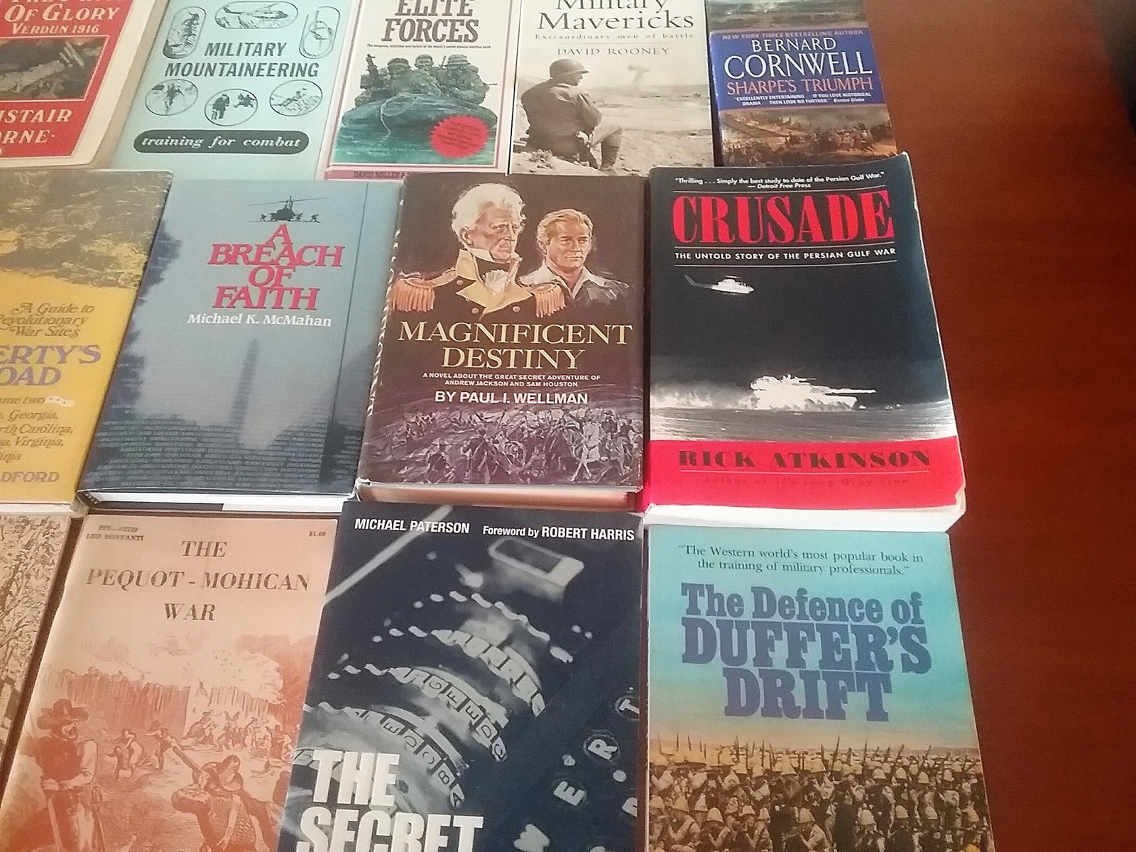 Huge Lot of 24 Military and War Books!