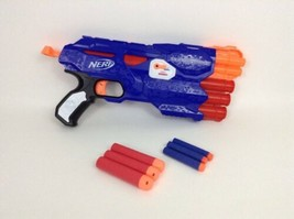 Hasbro N-Strike Elite Mega Dual-Strike Blaster Dart Gun with Complete Darts - $19.55