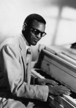 Art Print POSTER Ray Charles at Piano - $2.96+