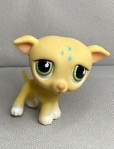 GREYHOUND DOG #875 Authentic Littlest Pet Shop Hasbro LPS - $3.00