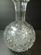 Straus Glass Co ABP Venetian Pattern Rare Carafe 1893 Brilliant Antique ... - $143.55