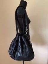 Auth. CHRISTIAN DIOR Limited Edition Quilted Cannage Black Phython Snake... - $1,237.50
