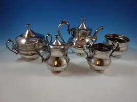 Silverplated Coffee Set (5) Five Piece by Reed ... - $295.00