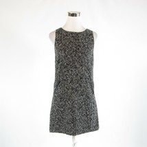 Black gray textured ANN TAYLOR LOFT sleeveless shift dress 2 - $29.99