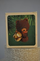 Hallmark - Bear and Bell 1983 - Keepsake Classic Ornament - $7.74