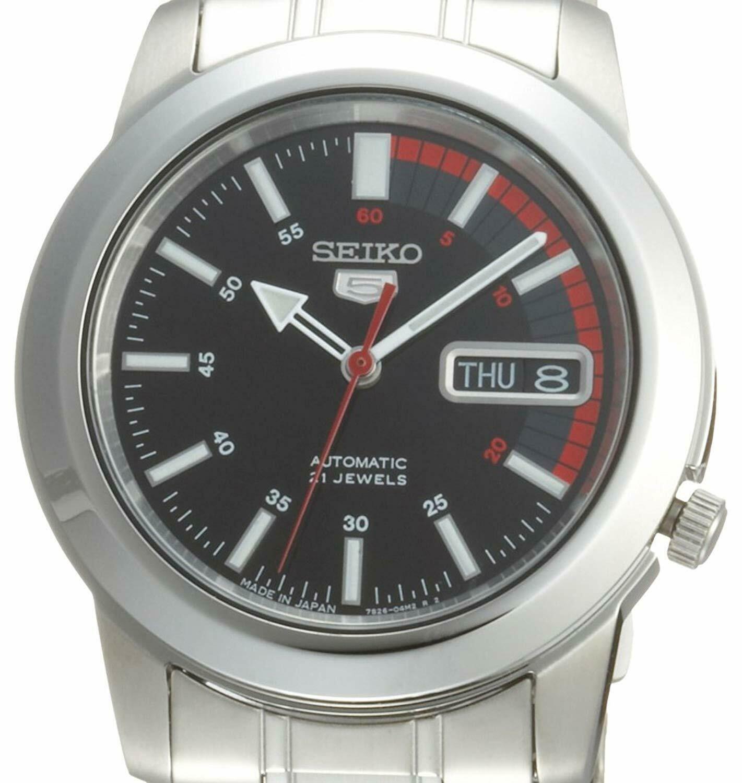 Seiko Men's SNKK31J1 5 Automatic Stainless Steel Watch
