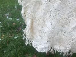 Crochet Pattern Herrschners 112/91 Star Bedspread HUGE handmade Vtg - $99.00