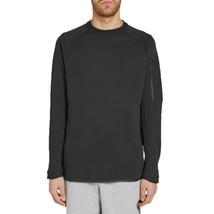 Nike Tech Fleece Crew Men's Sweatshirt Black 886158-010 - $69.60