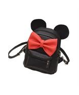 Backpack Mickey Mini Bag Women's Bow Teen Rucksack Small Cute Mouse Ears... - $18.67