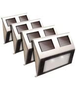 Maxsa Innovations Solar Deck Lights, 4 Pk (stainless Steel) MXI47334SS - $90.95