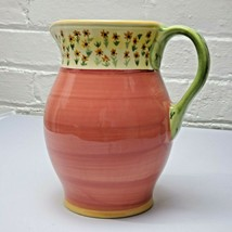 "Pfaltzgraff Sunflower Pitcher  ""The Secrets of Pistoulet"" by Jana Kolpen - $24.50"