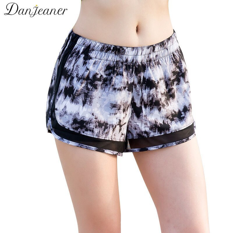 Eaner new arrival women casual quick dry shorts sexy mesh double layer safty short shorts female