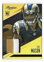 2014 Tre Mason Panini Prestige Draft Picks Rookie Patch - St. Louis Rams - $2.84