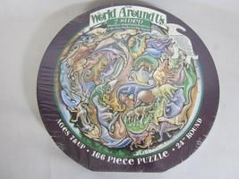 THE WORLD AROUND US Kids Fun - Dinosaur Shaped Puzzle Pieces Prehistoric... - $14.84