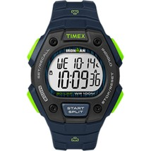 Timex IRONMAN® Classic 30 Full-Size Watch - Blue/Lime - $54.34