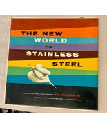 SOUNDTRACK: New World Of Stainless Steel LP Rare Vinyl Record Vintage - $19.79