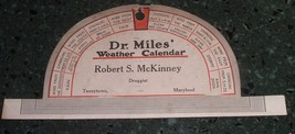 Antique Advertising Dr. Miles hanger / Sign McKinney Druggist Taneytown MD - $25.00