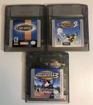 (3 game lot) Gameboy Color Tony Hawk's Pro Skater Bundle: 1, 2 AND 3! - $16.82