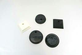 Set of 6 bases for barbie doll stands - $4.74