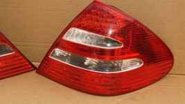 03-06 Mercedes W211 E320 E500 LED Taillight Tail Lights Lamps Set L&R image 2