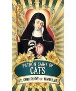 Saint Gertrude of Nivelles Patron of Cats Magnet #4 - $4.99