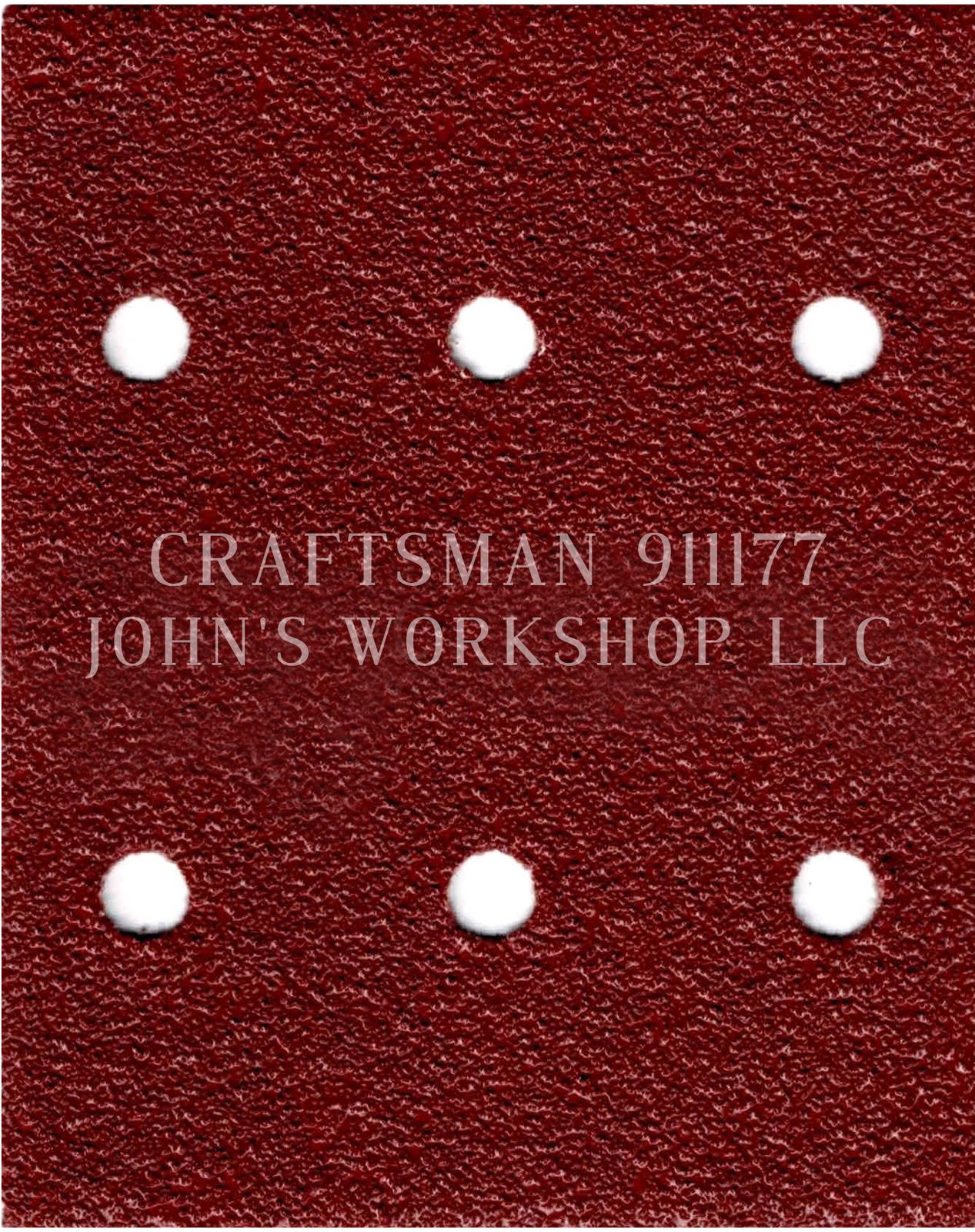 Build Your Own Bundle of CRAFTSMAN 911177 1/4 Sheet No-Slip Sandpaper - 17 Grits - $0.99