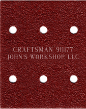 Build Your Own Bundle of CRAFTSMAN 911177 1/4 Sheet No-Slip Sandpaper - ... - $0.99