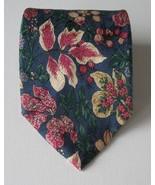 Silk Tie Paul Frederick 100% Italy Floral Classic Formal Men's Cravatte - $29.02
