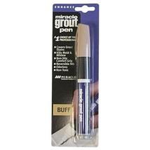 Miracle Sealants GRTPENBUF6 Grout Pen Color & Gloss Enhancers, Buff - $8.36