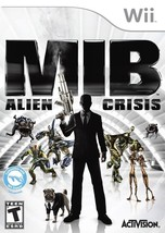 Men In Black Alien Crisis Wii Great Condition Complete Fast Shipping - $9.93