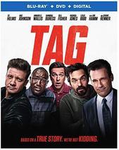 Tag  (Blu-ray + DVD, 2018)