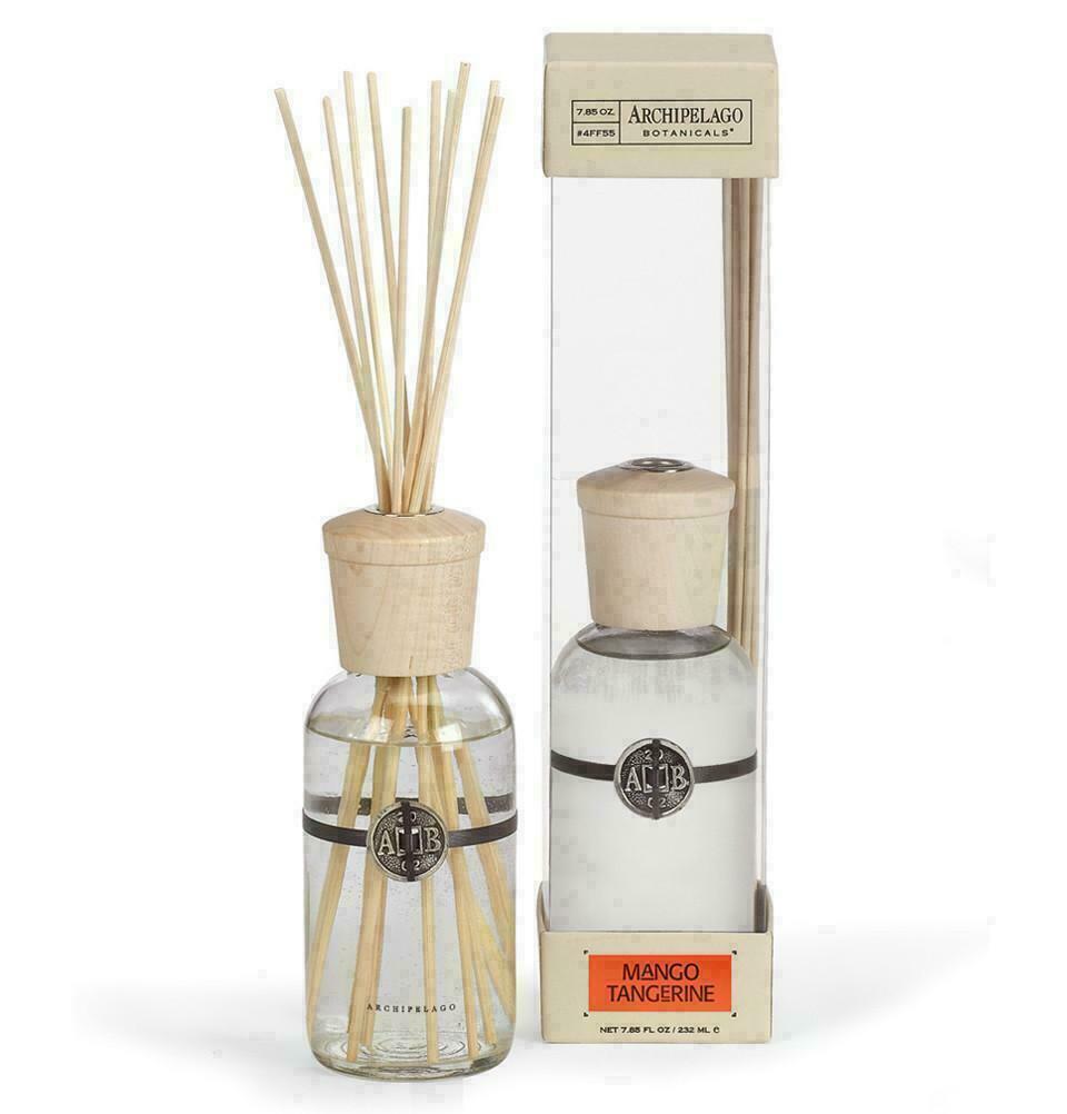 Archipelago Botanicals Mango Tangerine Home Fragrance Reed Diffuser by 8.4 oz