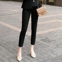Women's High Quality Solid White Blazer Jacket Business Suit image 10